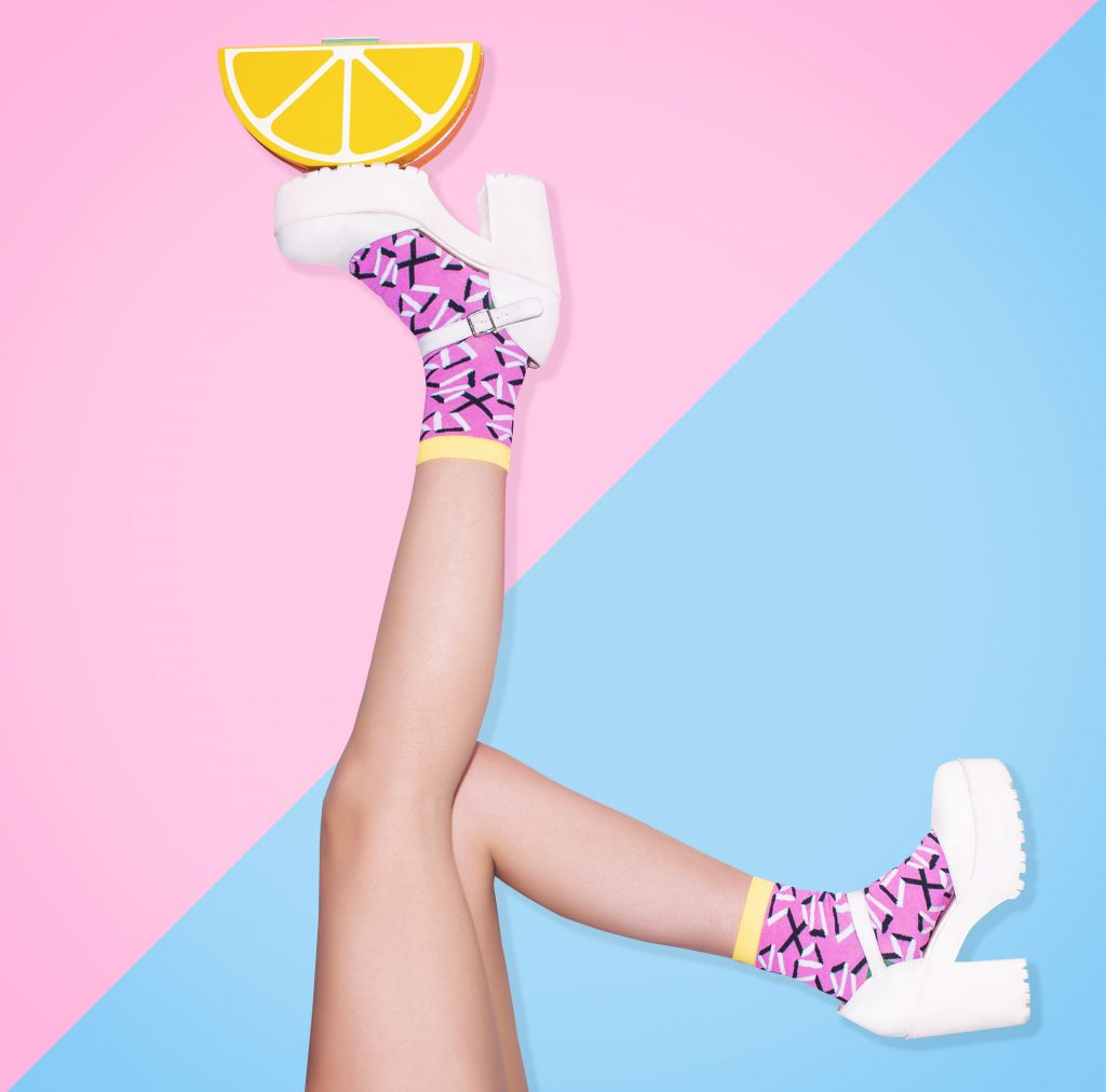 fotografia creativa para Happy Socks
